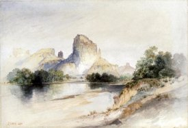 Thomas Moran - Castle Butte, Green River, Wyoming