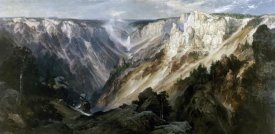Thomas Moran - Grand Canyon at Yellowstone