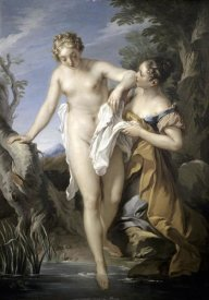 Francois Le Moyne - Bather and her Attendant