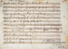 Wolfgang Amadeus Mozart - Six Contre Danses, K.V. 462, for two Violins & Bass