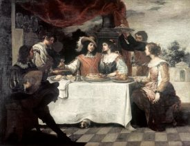 Bartolome Esteban Murillo - Banquet of The Prodigal Son