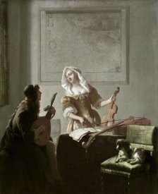 Jacob Ochtervelt - The Musicians