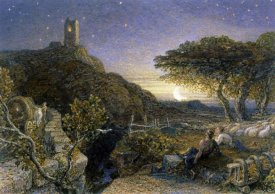 Samuel Palmer - The Lonely Tower