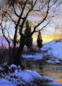 Walter Launt Palmer - Winter Sunset