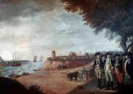 James Peale - Washington at Yorktown After Surrender, 1781