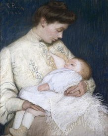 Lilla Cabot Perry - Nursing The Baby