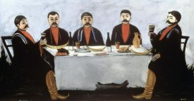 Niko Pirosmanasvili - A Feast of Five Princes