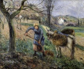 Camille Pissarro - Landscape with a Donkey