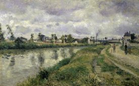 Camille Pissarro - The River's Edge
