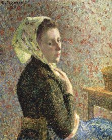 Camille Pissarro - Woman with Green Scarf