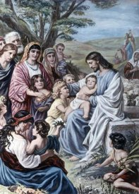 Bernhard Plockhorst - Christ and the Children