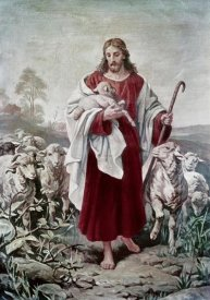 Bernhard Plockhorst - The Good Shepherd