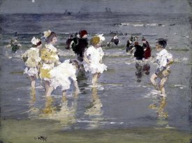 Edward Henry Potthast - Children on the Beach