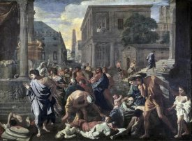 Nicolas Poussin - Plague On Ashdod In 1030 B.C.