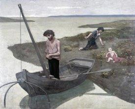 Pierre Puvis de Chavannes - Poor Fisherman
