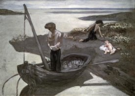 Pierre Puvis de Chavannes - Poor Fisherman (Sketch)