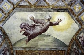 Raphael - Creation of The Sun and Moon