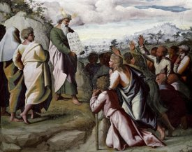 Raphael - Moses Presenting The Ten Commandments