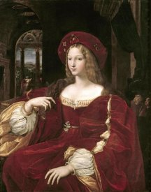 Raphael - Portrait of Joanna of Aragon