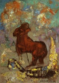 Odilon Redon - Centaur and Dragon