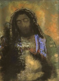 Odilon Redon - Christ of the Sacred Heart