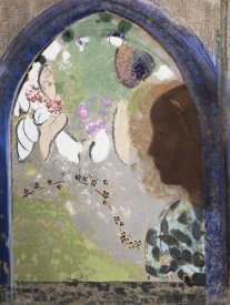 Odilon Redon - Woman at The Window