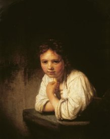 Rembrandt Van Rijn - Girl at Window