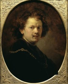 Rembrandt Van Rijn - Self Portrait Bareheaded