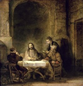 Rembrandt Van Rijn - Supper at Emmaus