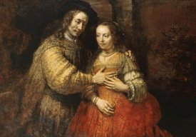 Rembrandt Van Rijn - The Jewish Bride