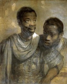 Rembrandt Van Rijn - Two Black Men
