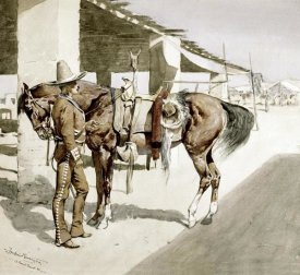 Frederic Remington - A Rural Guard - Mexico