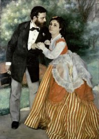 Pierre-Auguste Renoir - Alfred Sisley and His Wife