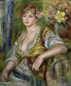 Pierre-Auguste Renoir - Blonde in Pink