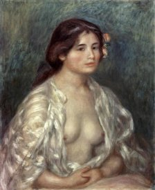 Pierre-Auguste Renoir - Gabrielle in an Open Blouse