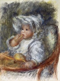 Pierre-Auguste Renoir - Jean Renoir in a Chair - The Child with a Biscuit