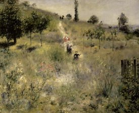 Pierre-Auguste Renoir - Path Through the Tall Grasses