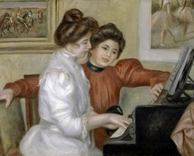 Pierre-Auguste Renoir - Yvonne and Christine Lerolle at the Piano, 1897-1898