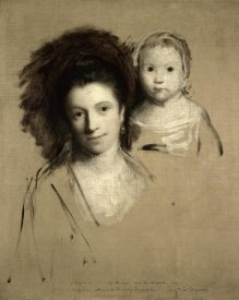 Joshua Reynolds - Study of Giorgina and Her Daughter