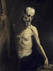 Jusepe de Ribera - Saint Andrew The Apostle