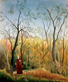 Henri Rousseau - A Stroll in the Woods