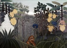 Henri Rousseau - Repast of The Lion