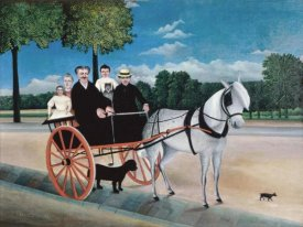 Henri Rousseau - Uncle Junior's Dog Cart