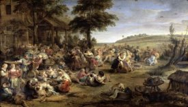 Peter Paul Rubens - A Village Wedding