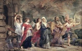 Peter Paul Rubens - Escape of Lot