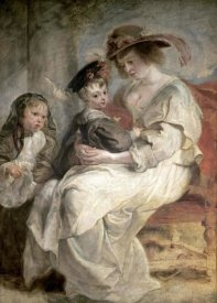Peter Paul Rubens - Helena Fourment and Her Children, Claire-Jeanne and Francois
