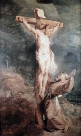 Peter Paul Rubens - Saint Francis Before The Crucified Christ