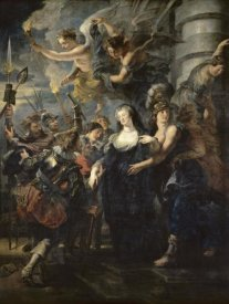 Peter Paul Rubens - The Flight From Blois (Life of Marie de Medici, Queen of France)