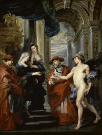 Peter Paul Rubens - The Treaty of Angouleme (Life of Marie de Medici, Queen of France)