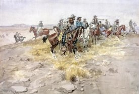 Charles M. Russell - Cowboys